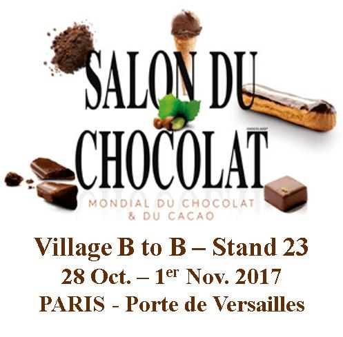 HYDROPROCESS présent au SALON DU CHOCOLAT de Paris