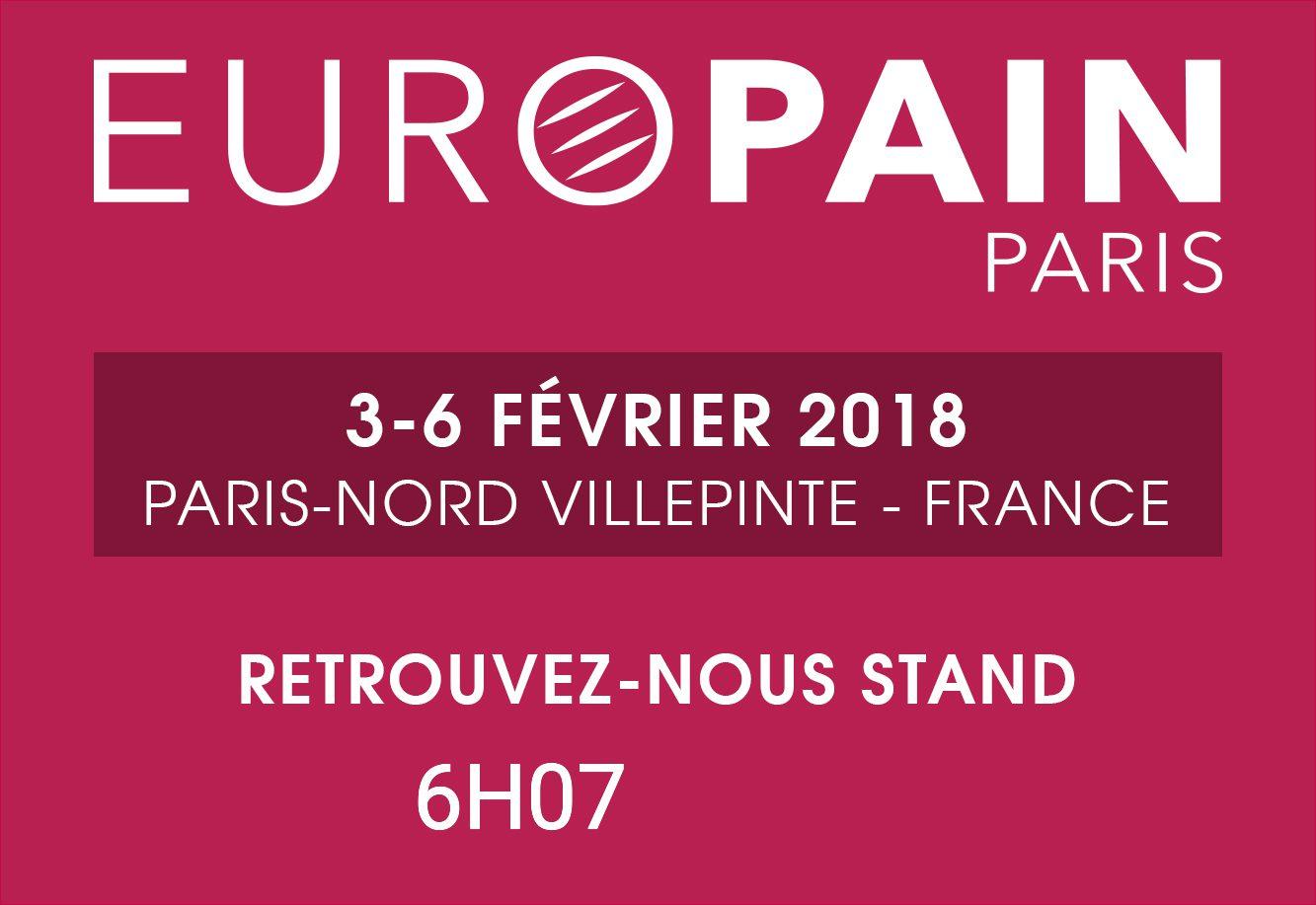 HYDROPROCESS® présent au salon EUROPAIN de PARIS-NORD Villepinte