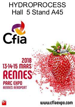 HYDROPROCESS® présent au salon CFIA de Rennes