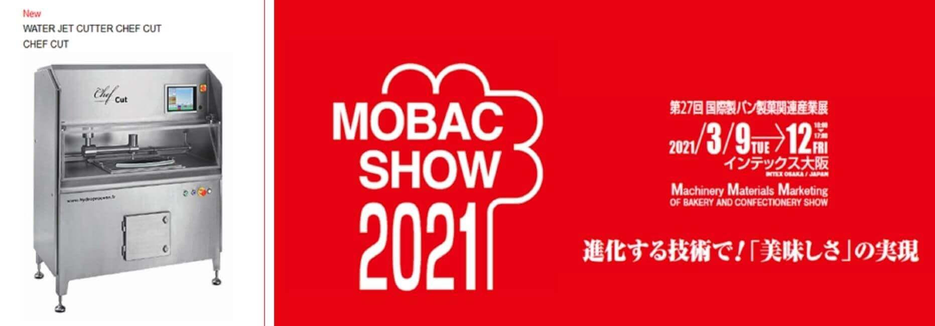 Chefcut sur le salon MOBAC 2021 de Osaka