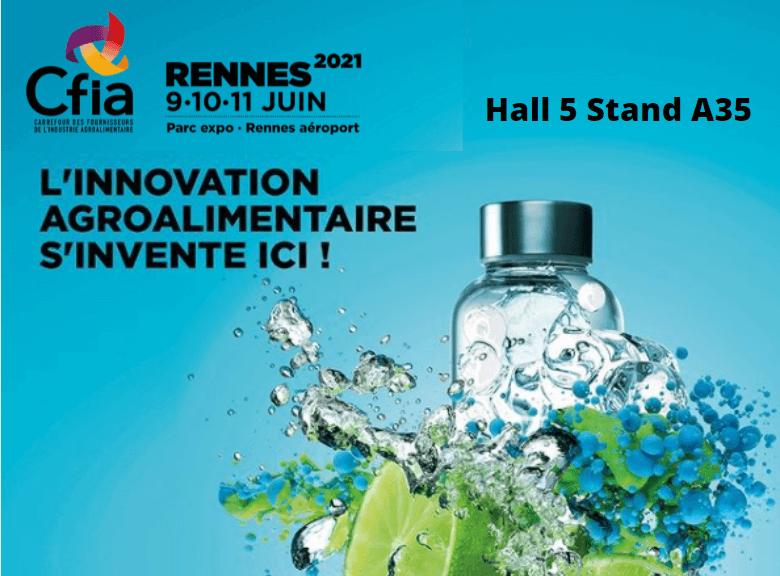 HYDROPROCESS sera présent au salon CFIA Rennes 2021